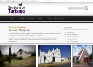Portal de la Secretaría de Turismo de la Villa de Merlo